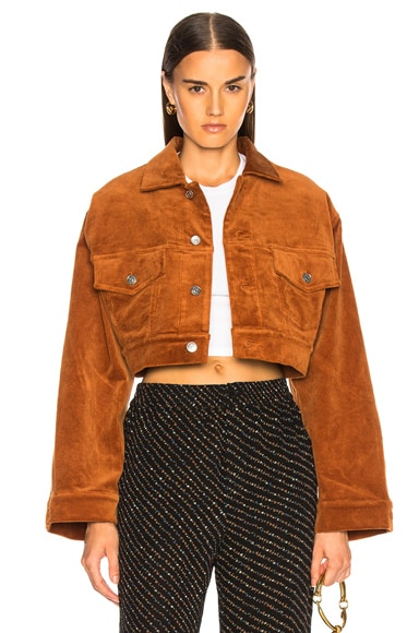 Stretch Corduroy Jacket