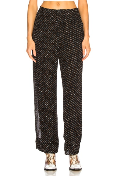 Printed Georgette Pants