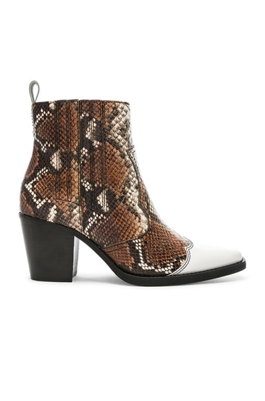 Western Mix Boots
