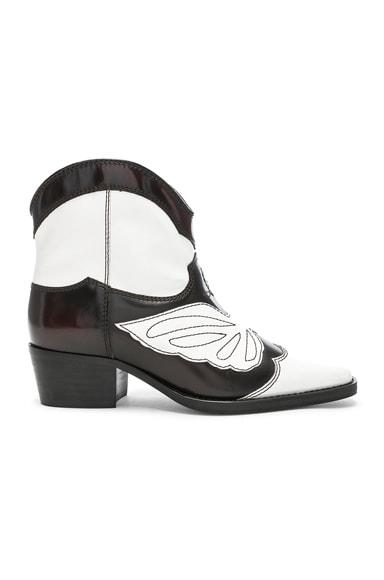 Leather Meg Boots