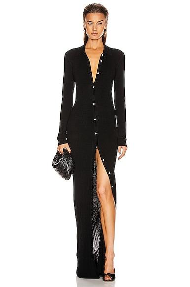 Bern Long Polo Cardigan Dress