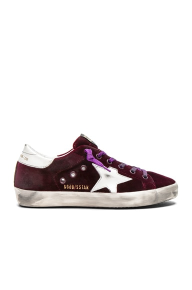 Velvet Superstar Sneakers