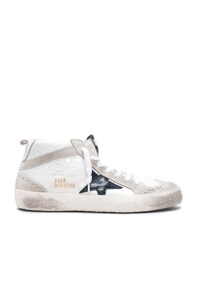 Nylon Mid Star Sneakers