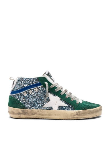 Glittered Mid Star Sneakers