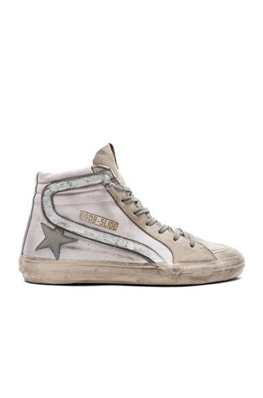 Canvas Slide Sneakers