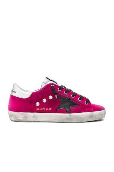 Velvet Superstar Sneakers
