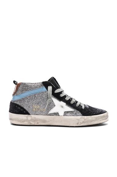 Glitter Mid Star Sneakers