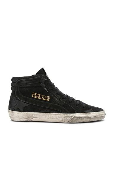 Suede Slide Sneakers