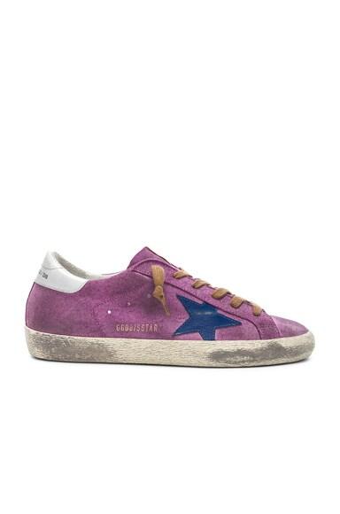 Suede Superstar Sneakers