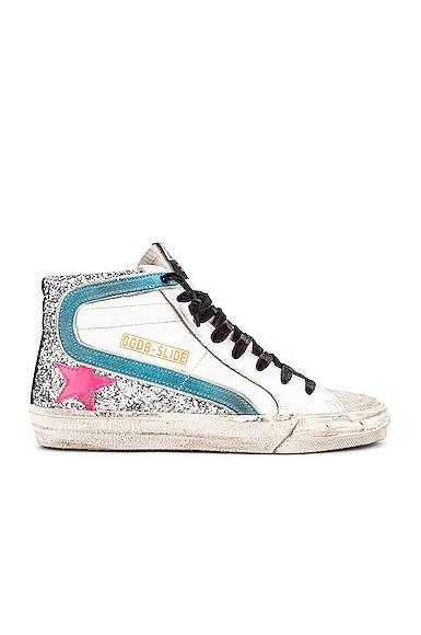 Golden Goose Glitters Slide Sneaker