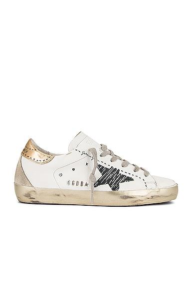 Golden Goose Leather Upper Sneaker in White