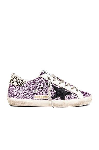 Golden Goose Super Star Sneaker in Purple