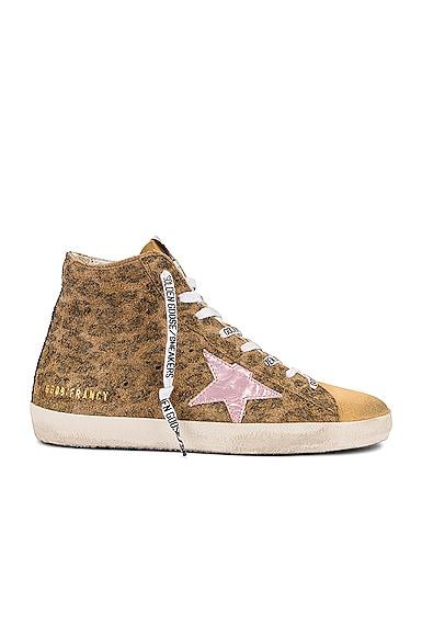 Golden Goose Francy Sneaker in Brown