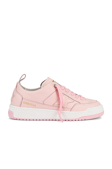 Golden Goose Yeah Leather Sneaker in Pink