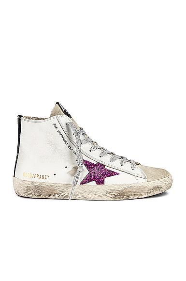 Golden Goose Francy Sneaker in White