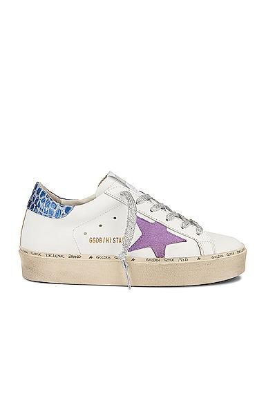 Golden Goose Hi Star Sneaker in White