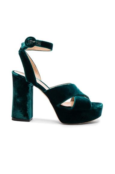 Velvet Roxy Platform Heels