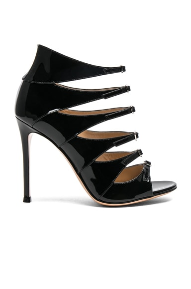 Patent Leather Vernero Multi-Strap Heels