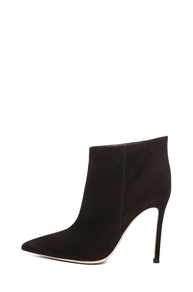 Suede Ankle Bootie
