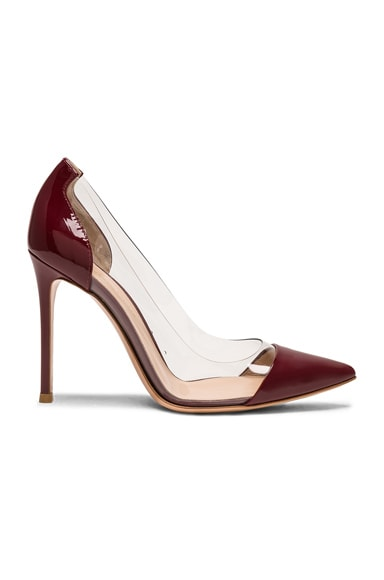 for FWRD Patent Leather & Plexi Pumps