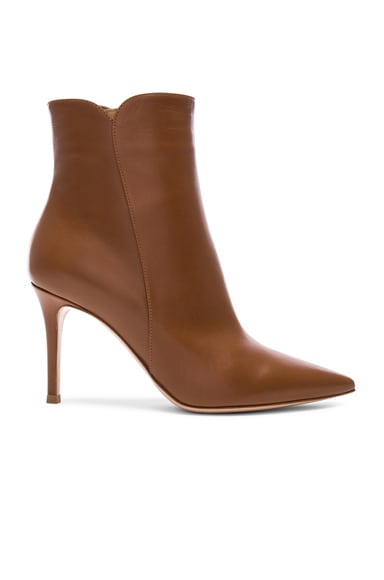 Leather Levy Ankle Boots