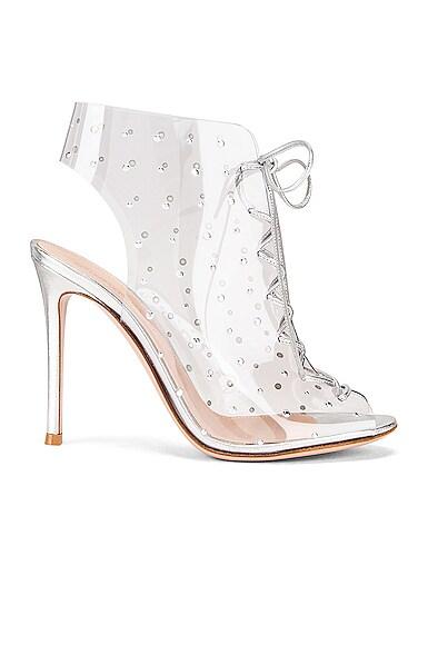 Plexi Nappa Silk Heels