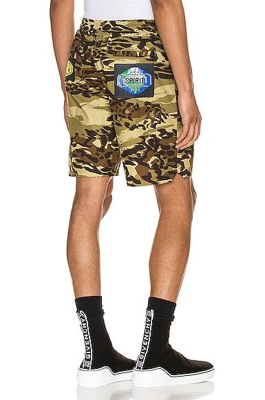 Nylon Bermuda Short