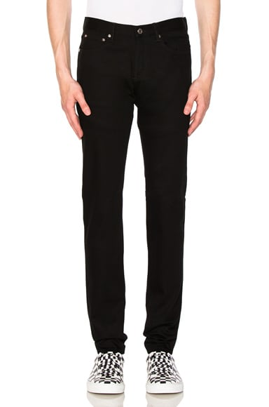 Embroidered Pocket Rico Jeans