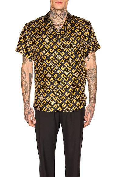 4G Cubism Print Shirt