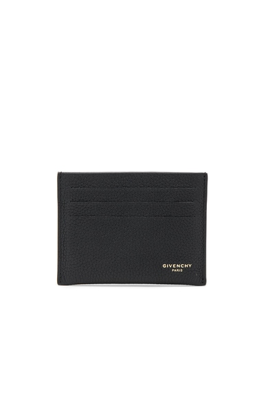 Taurillon Leather Card Holder