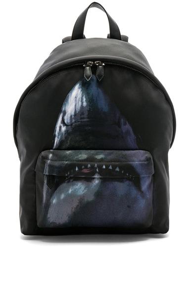 Flat Pocket Shark Backpack