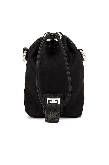 Givenchy Mini Bucket Bag in Black   FWRD