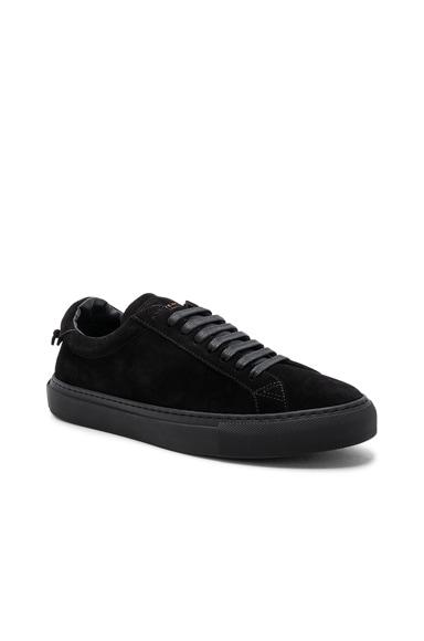 Tonal Suede Urban Tie Knot Sneakers