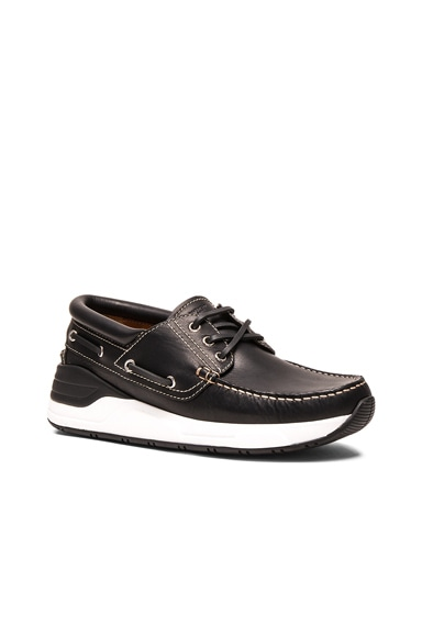 Leather Rover Derbies