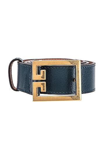 GV3 Leather Buckle Belt
