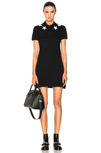 Star Polo Shirt Dress