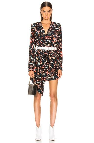 Mini Print Dress