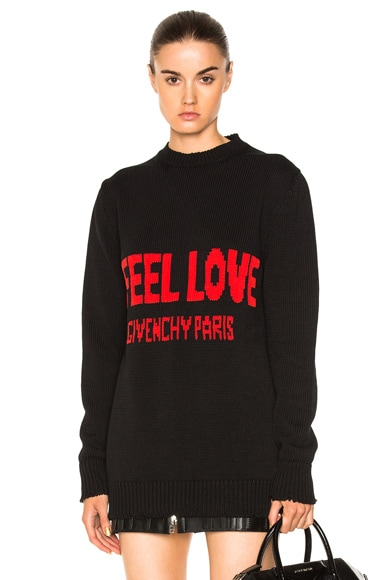 I Feel Love Sweater