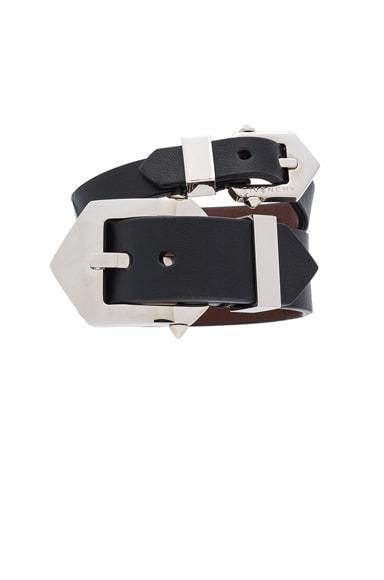 Double Belt Bracelet