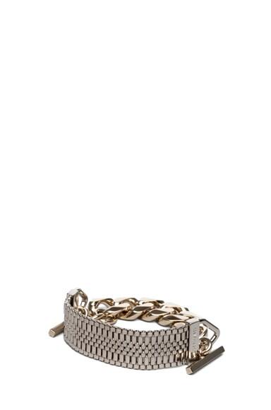 Mesh Watch Bracelet