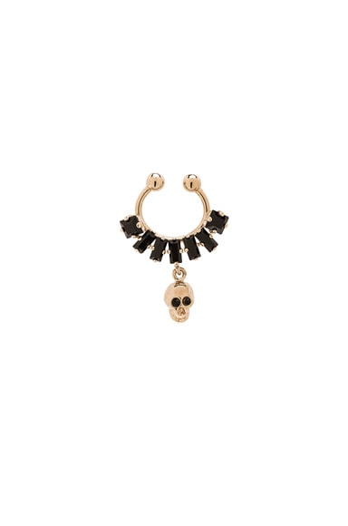 Skulls Septum Ring