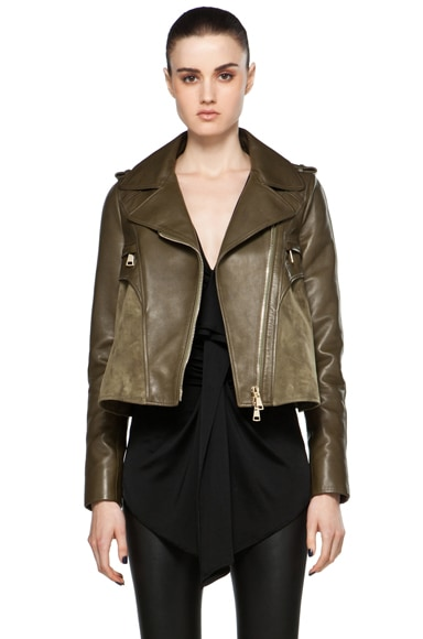 Leather and Suede Jacket