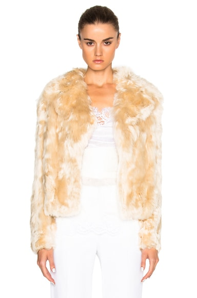 Alpaca Fur Jacket