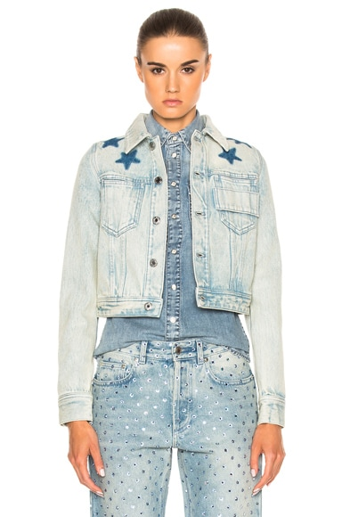 Black Star Denim Jacket