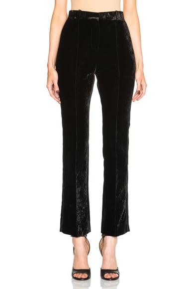 Crushed Velvet Trousers