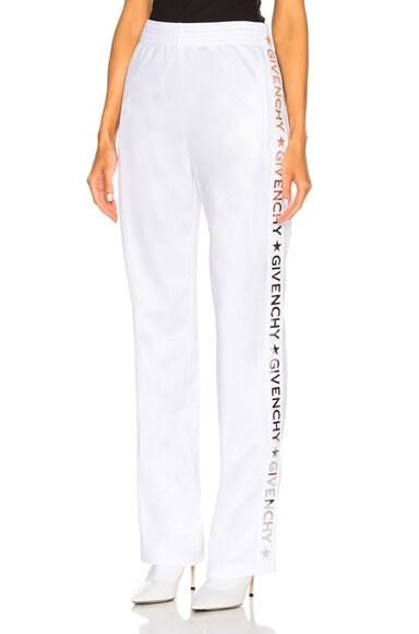 Technical Neoprene Jersey Track Pants