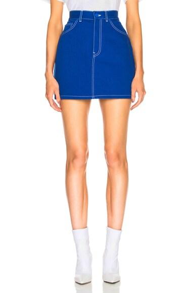 Workwear Mini Skirt