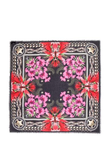 Paradise Flowers Modal & Cashmere Scarf