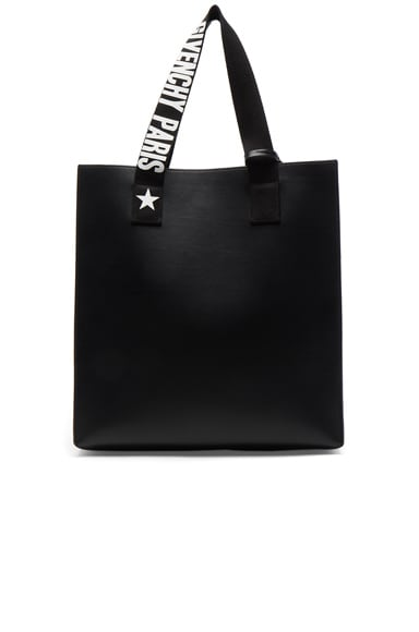Medium Logo Strap Coated Stargate Tote