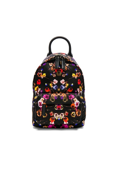 Nano Night Pansies Nylon Backpack